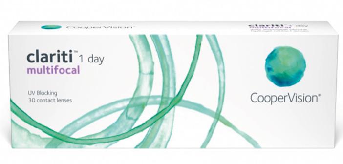 Clariti 1 Day Multifocal, desechable diaria de hidrogel de silicona