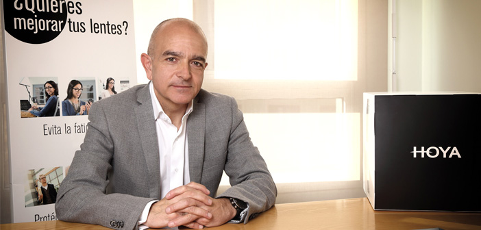 José Fraile. Director comercial. HOYA Lens Iberia