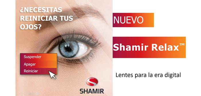 Shamir resuelve los desafíos visuales de la era digital con el Nuevo Shamir Relax™