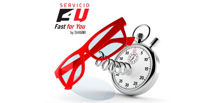 Shamir presenta su servicio Fast for You: lentes de calidad premium en 48 horas
