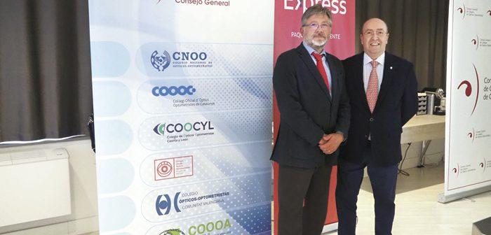 El Consejo General y Correos Express renuevan y consolidan su compromiso estratégico en un encuentro en la sede  de la Organización Colegial Óptico-Optométrica