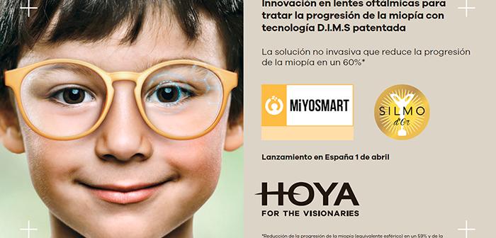 HOYA presentará el próximo 1 de abril en España la nueva esperanza en la gestión de la miopía